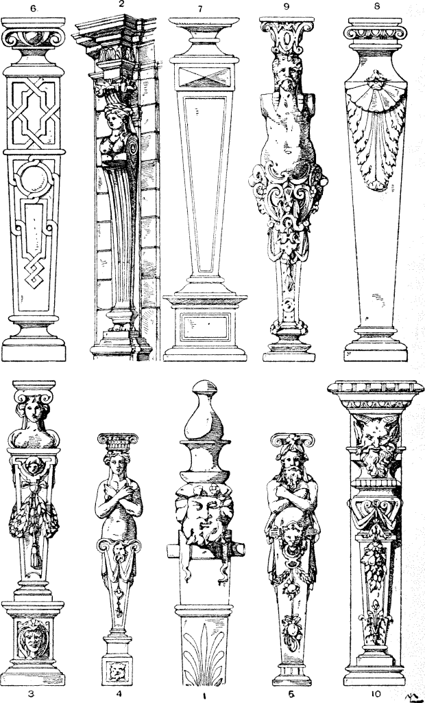 Alexander David O'Conor Speltz, Styles of ornament, exhibited in designs, and arranged in historical order, with descriptive text. A handbook for architects, ..., 1910, flic.kr/p/odhXNJ