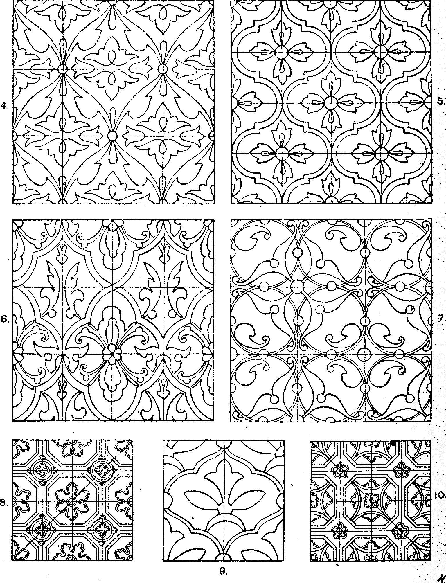 Franz Sales Meyer, Handbook of ornament; a grammar of art, industrial and architectural designing ..., 1900, flic.kr/p/oeXqFZ