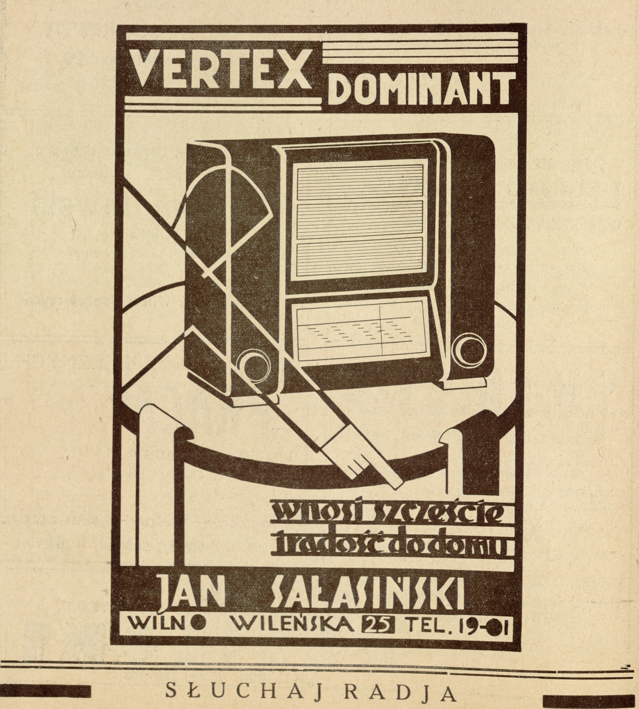 Vertex dominant, Jan Sałasiński