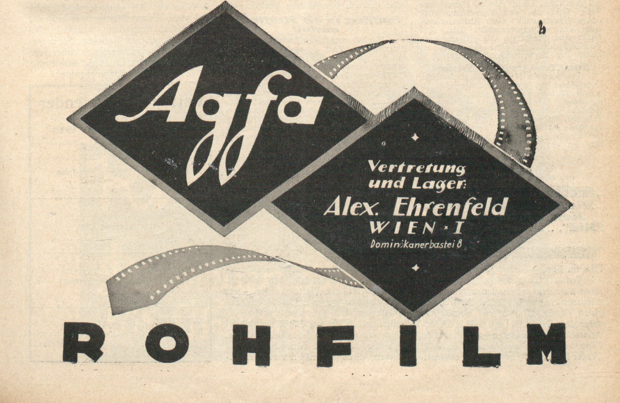 Agfa film, XX wiek, anno.onb.ac.at