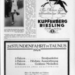Kupferberg Riesling, 1924 anno.onb.ac.at