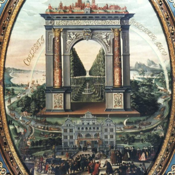 Allegory_of_Gdańsk_trade, Isaak van den block, 1608