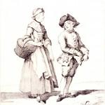 Matthäus Deisch, Danziger Ausrufer = Les cris de Danzig, 1765, polona.pl/item/5386161/11