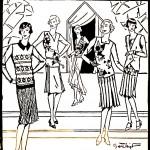 Moda, Danziger Zeitung: Organ für Handel..., 1928.10.14 nr 279 pbc.gda.pl/dlibra/publication/30001?tab=1h s. 49