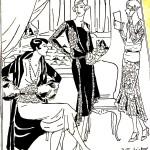 Moda, Danziger Zeitung: Organ für Handel..., 1928.10.14 nr 279 pbc.gda.pl/dlibra/publication/30001?tab=1h s. 50