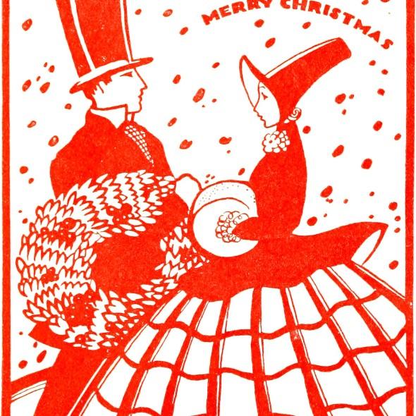 Magia Świąt 1880, ze zbiorów Uniwersytetu w Illinois, flic.kr/p/owtJMD