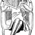 Czyta, rys. Bella Spangenthal, Danziger Zeitung: Organ für Handel..., 1928.12.29 nr 354 - 28/29 pbc.gda.pl/dlibra/publication?id=30003&tab=3