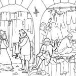 Ilustracja do gdańskich rozmówek Mikołaja Volckmara z 1612 roku; aut. Maria Apoleika