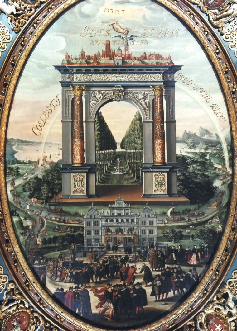 Allegory_of_Gdańsk_trade, Isaak van den block, 1608