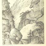 Bogusz Zygmunt Stęczyński, Ścieżka od Pięciu Stawów do Morskiego Oka, 1860, British Library flic.kr/p/hRnVb9