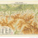 Mapa Tatr, 1926, gallica.bnf.fr