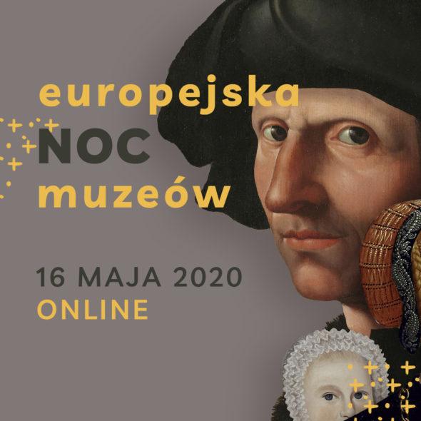 Europejska Noc Muzeów 2020, proj Joanna Michniewska Fromline Studio.